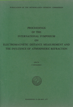 GS 21, P. Richardus (Editor), Proceedings of the international symposium on electromagnetic distance measurement and the influence of atmospheric refraction