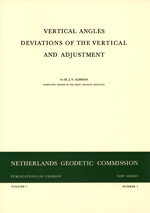 PoG 1, J.E. Alberda, Vertical angles, deviations of the vertical and adjustment