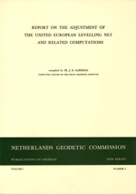 PoG 2, J.E. Alberda, Report on the adjustment of the United European Levelling Net and related computations
