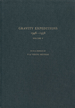 GS 11, G.J. Bruins (Editor), Gravity expeditions 1948-1958. Vol. V.
