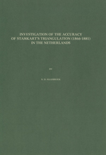 GS 18, N.D. Haasbroek, Investigation of the accuracy of Stamkart's triangulation (1886-1881) in The Netherlands