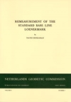 Remeasurement of the standard base line Loenermark